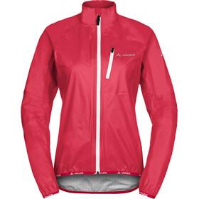 VAUDE Drop III Jacket Women strawberry
